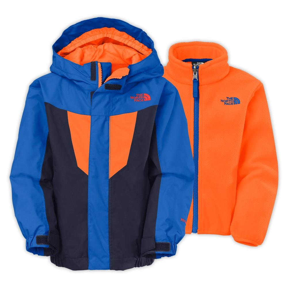 0ad5d27dc The North Face Toddler Boys' Vortex Triclimate Jacket Cosmic Blue/Monster  Blue