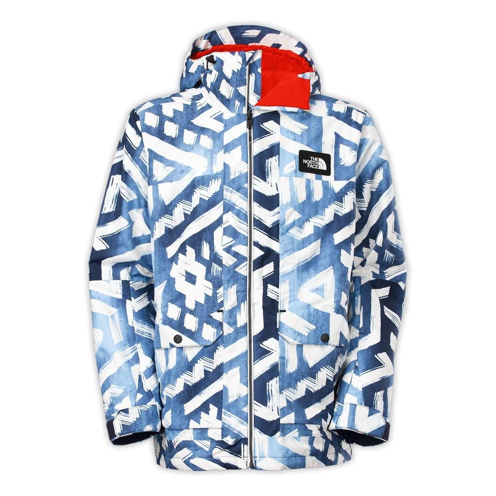 The North Face Tight Ship Jacket Men s Cosmic Blue Shaka Print 5f50a0cac