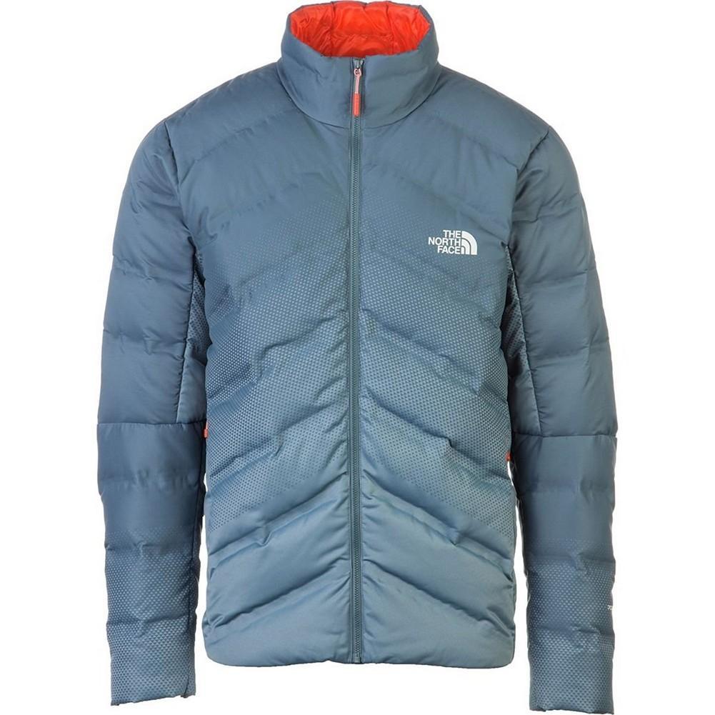 814bc9cbb5 The North Face Fuseform Dot Matrix Down Jacket Men s Conquer Blue Tri Matrix  Print ...
