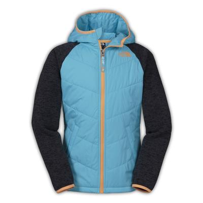 The North Face Quilted Sweater Fleece Hoodie Girls'