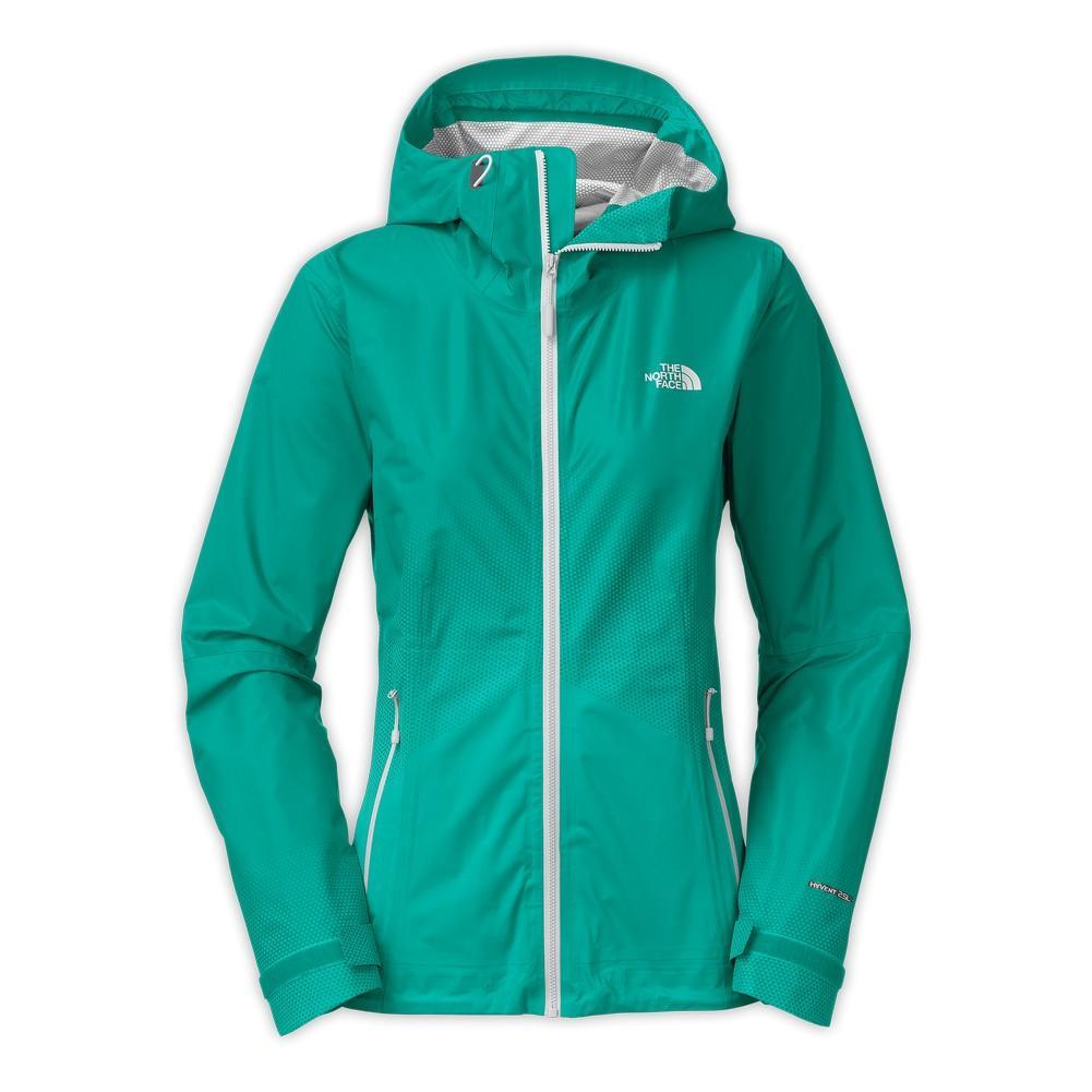 44b5738066a The North Face Fuseform Dot Matrix Jacket Women's Kokomo Green Tri Matrix  Print ...