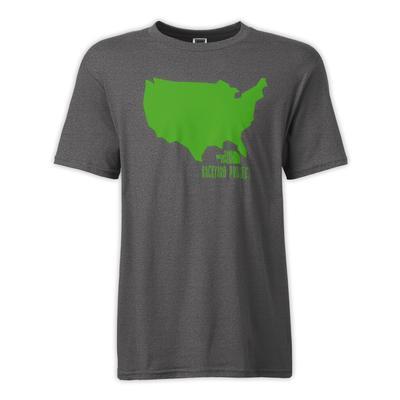 The North Face Backyard USA T-Shirt Men's