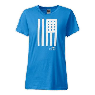 The North Face Backyard American Flag Tee Women's