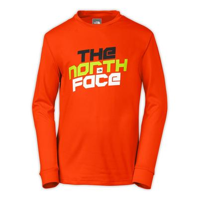 The North Face Boys' Markhor Hike Long-Sleeve Tee