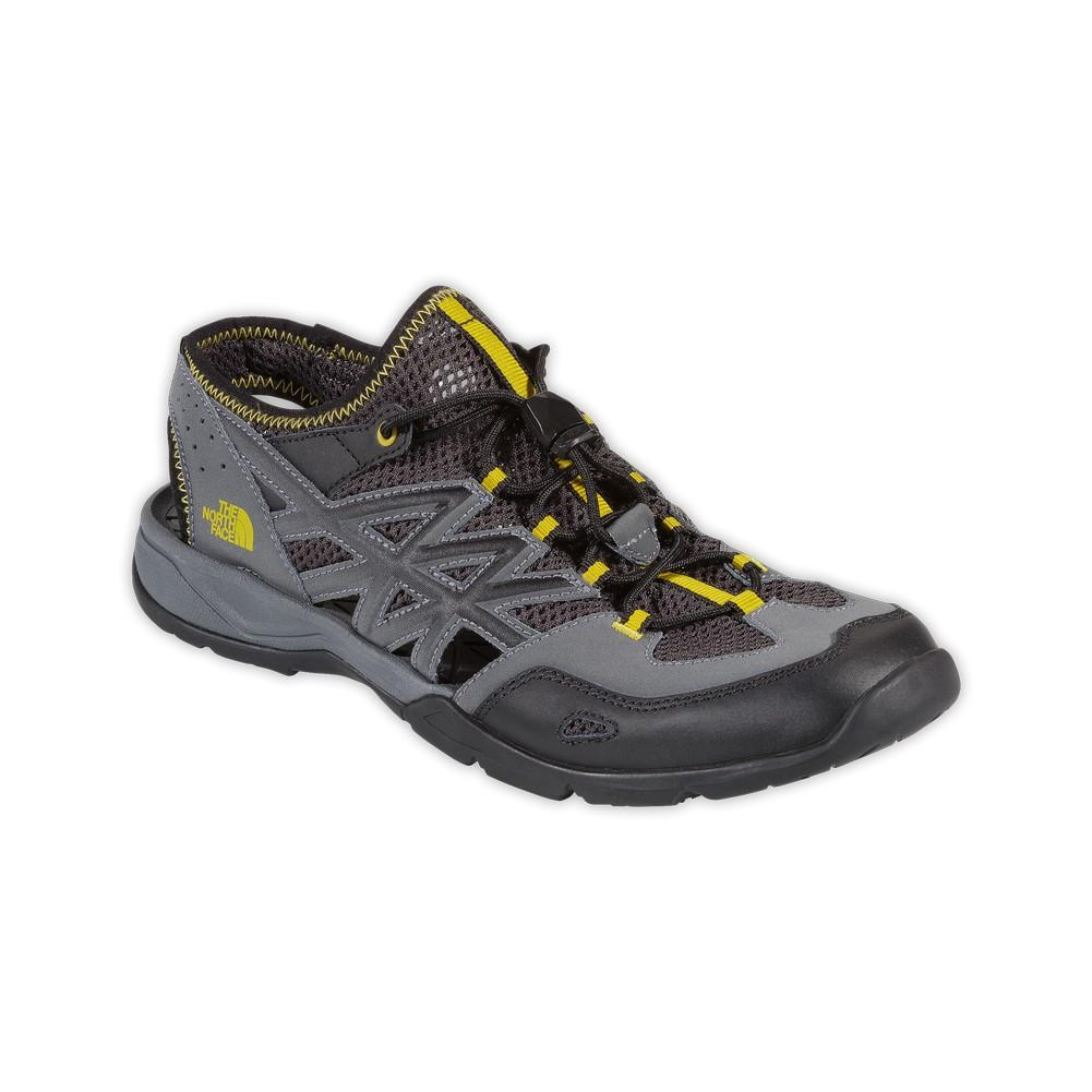 83a90d43cf91 The North Face Hedgefrog III Shoes Men s Black Ink Green Citronelle Green