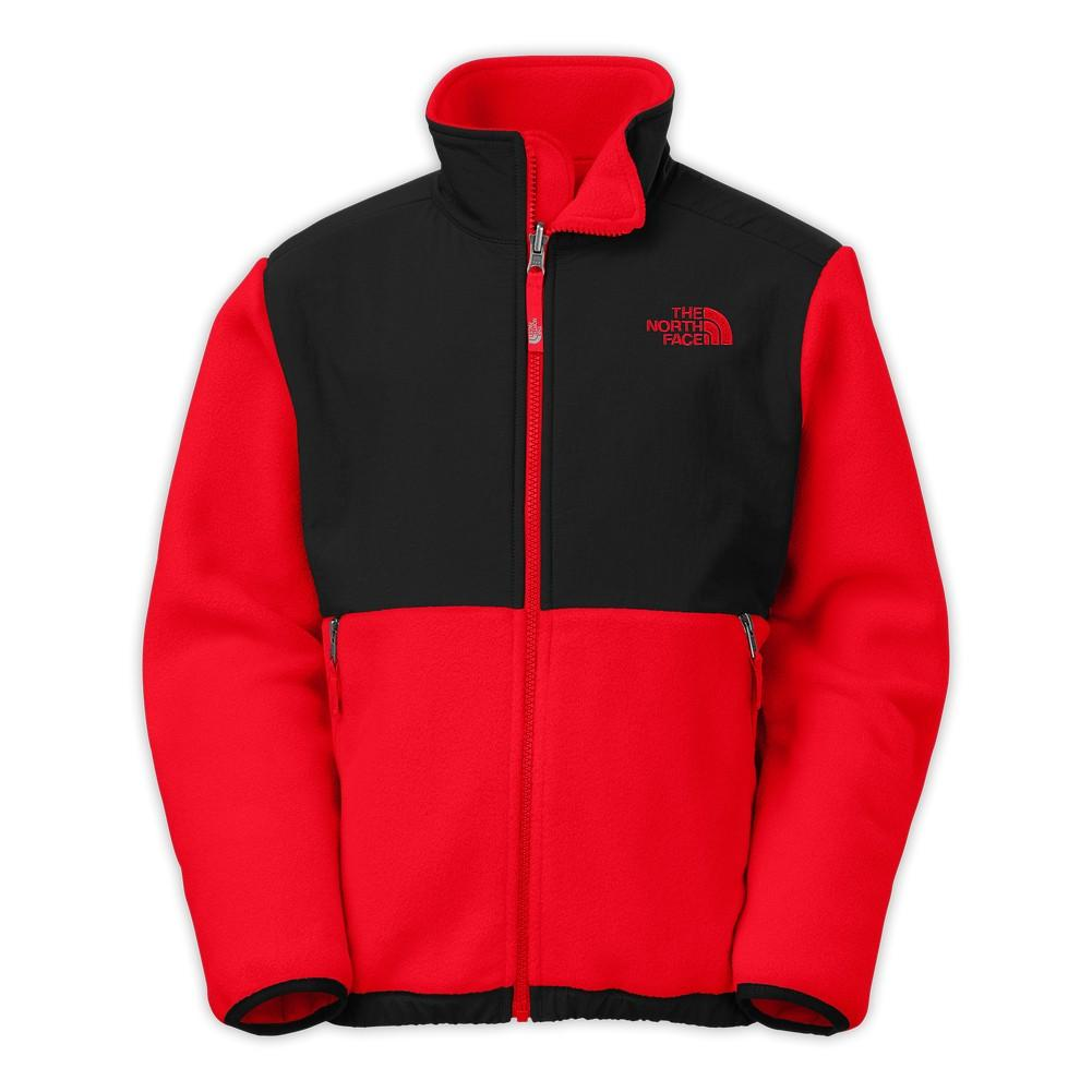 214a81d45 The North Face Denali Jacket Boys' Recycled Fiery Red