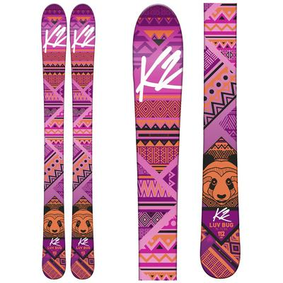 K2 Luv Bug Skis With Fastrak2 4.5 Bindings Girls'