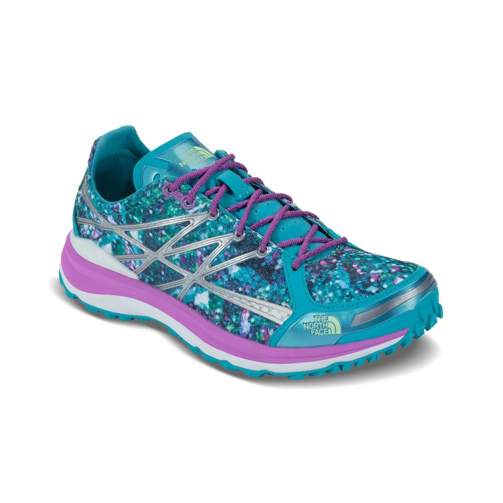 2ac43c1a31bf The North Face Ultra TR II Shoe Women s Bluebird Sweet Violet Graphic ...