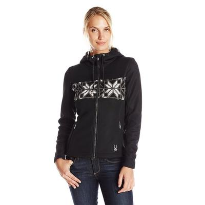 Spyder Soiree Hoody Faux Fur Sweater Women's