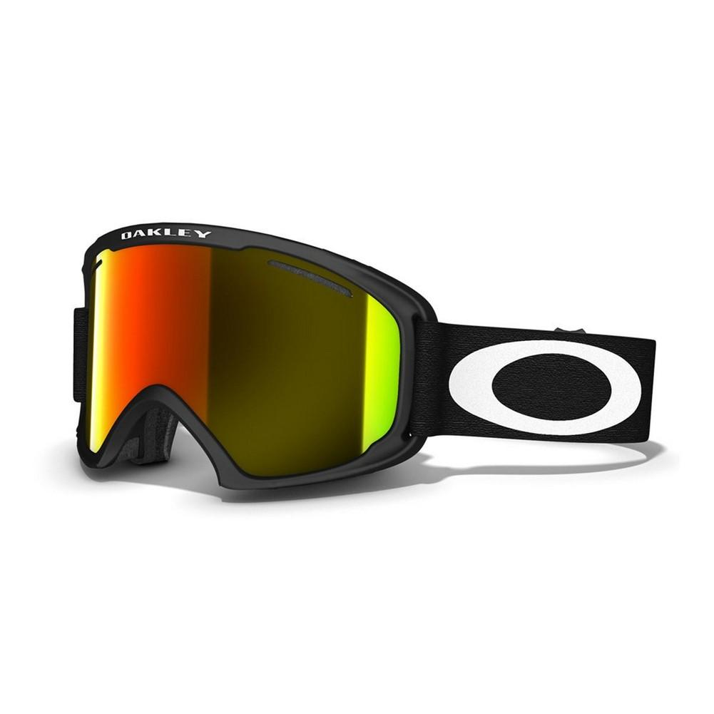 f6af553702a Oakley O Frame 2.0 XL Goggles Matte Black Fire Iridium