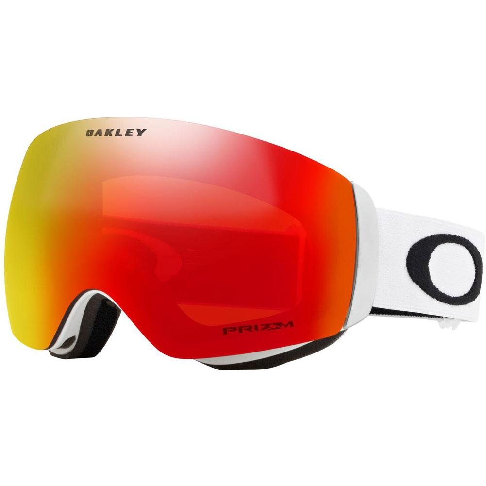 f7233fe015 Oakley Flight Deck XM Goggle MATTE WHITE PRIZM TORCH IRIDIUM