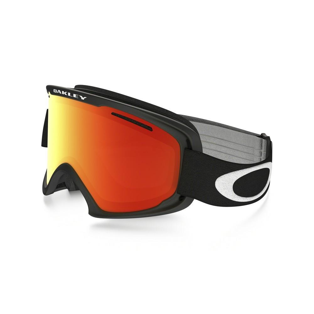 f863d86f774e Oakley O Frame 2.0 XM Goggles Matte Black Fire Iridium