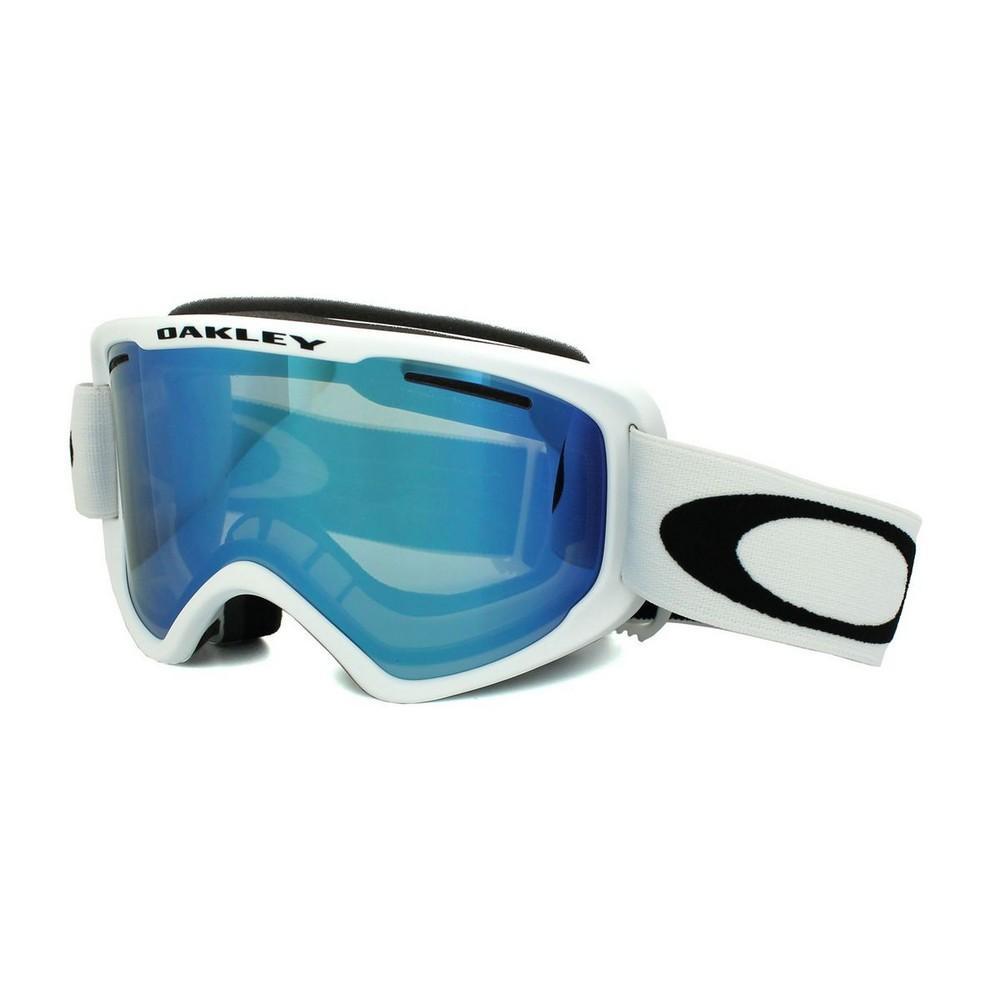 81b9bc9964 Oakley O Frame 2.0 XM Goggles Matte White Violet Iridium