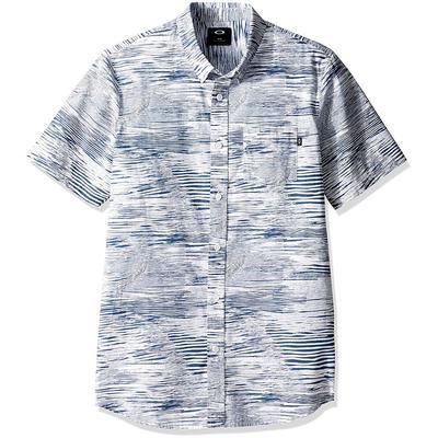 Oakley Grain Woven Short Sleeve Shirt Men's