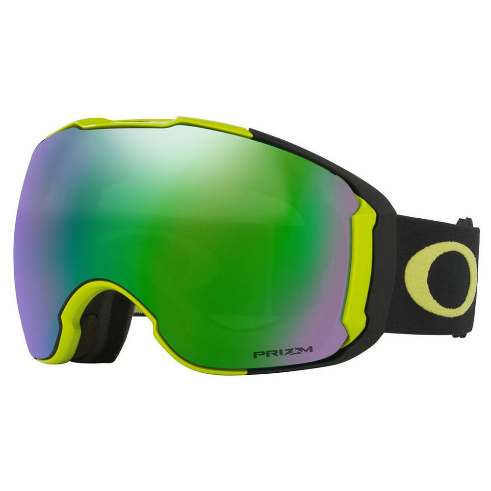 756f76420d4 Oakley Airbrake XL Goggles CITRUS BLACK PRIZM SNOW JADE IRIDIUM + PRIZM ROSE