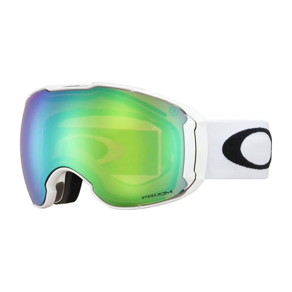 f4afe84bfc8 Oakley Airbrake XL Goggles POLAR WHITE PRIZM SNOW JADE IRIDM + PRIZM  SAPPHIRE