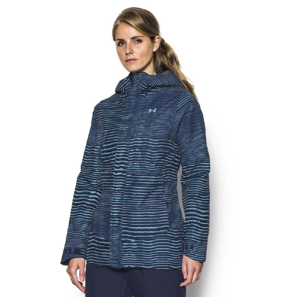 edfe5f789 Under Armour ColdGear Infrared Powerline Insulated Jacket Women's MIDNIGHT  NAVY/BLUE INFINITY/WHITE