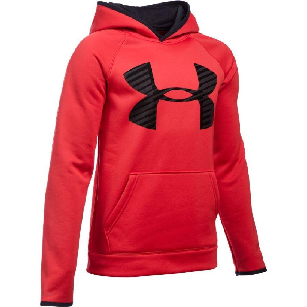 67a5048db ... Peacock/Pacific/Pacific. Under Armour Armour Fleece Storm Highlight  Hoodie Boys' Red/Black/Black