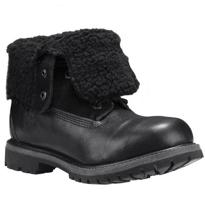 Timberland Black Authentic Teddy Fleece Boot Womens