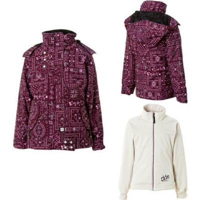 Ride Chevelle 3 in 1 Jacket Girls'