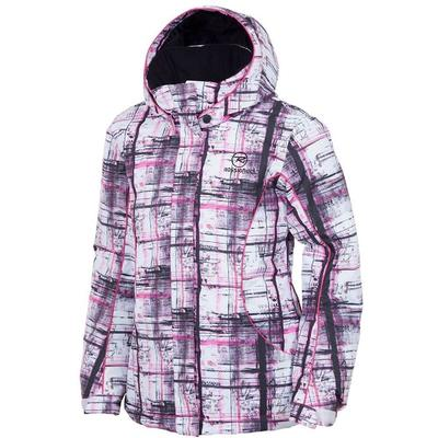 Rossignol Mystery Print Jacket Plaid Pink Girls'