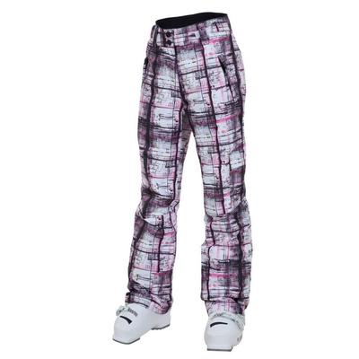 Rossignol Cargo Print Pant Plaid Pink Girls'