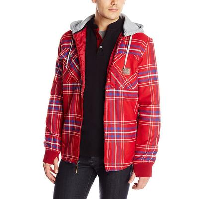 DC Backwoods Hooded Flannel Men's
