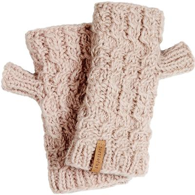Turtle Fur Nepal Handmade Wool - Mika Fingerless Mittens