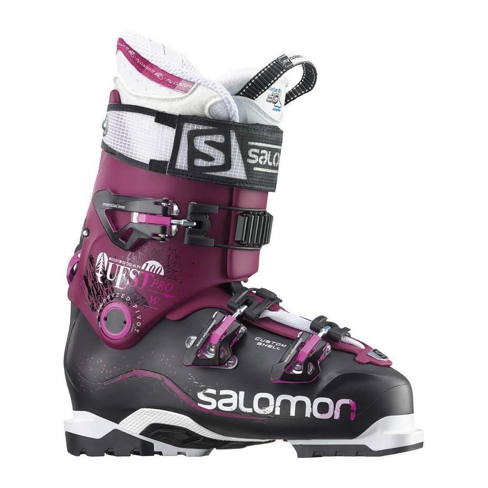 mange moderigtige bedste værdi bedste grossist Salomon Quest Pro 100 Ski Boots