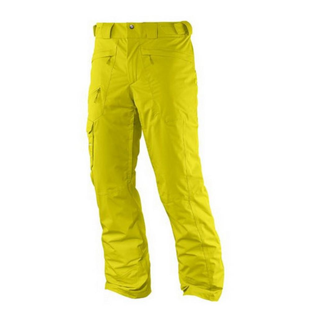 0ceac43d26fb Salomon Response Slim Pants Men s Raw Green