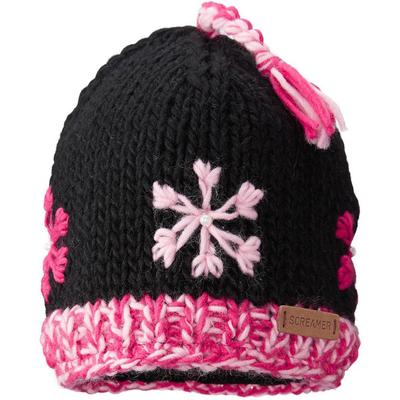 Screamer K's Snowflake Beanie Kids