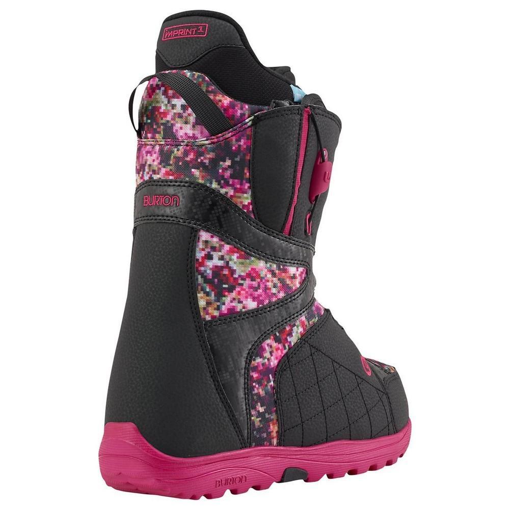 d8b7318488 Burton Mint Snowboard Boots Women s Black Floral Pixel ...