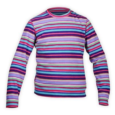 Hot Chillys Pepper Fleece Print Crewneck Youth