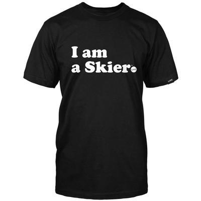 Line I Am A Skier T-Shirt Men's