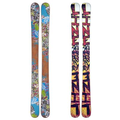 Line Youth Afterbang Shorty Skis