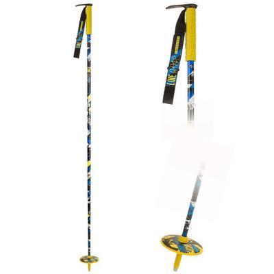 Line Whip Ski Poles Yellow