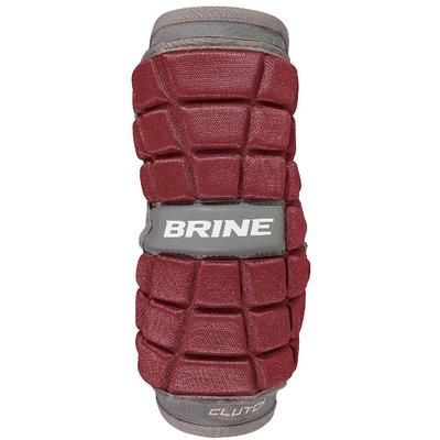 Brine Clutch Lacrosse Arm Pad Maroon Size L