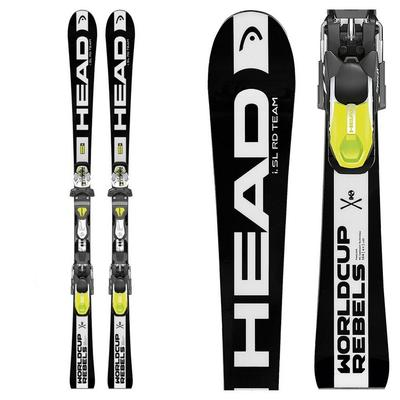 Head World Cup Rebel I.Sl Rdx System Race Skis Youth