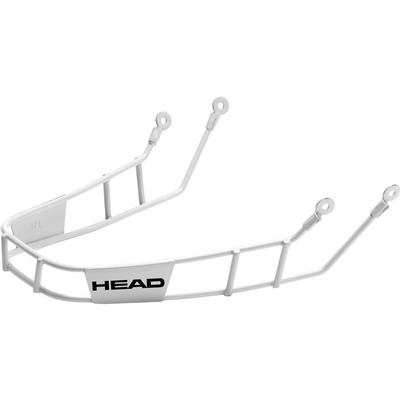 Head Slalom Racing Chinguard Silver