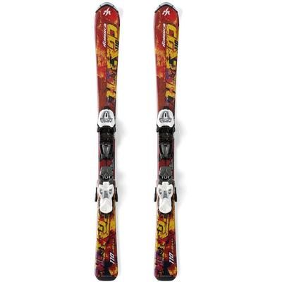 Nordica Youth Hot Rod Skis W/ Junior Bindings