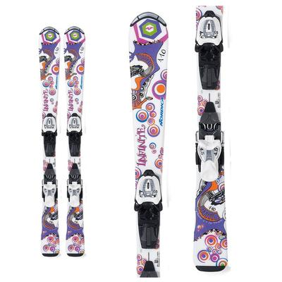 Nordica Girls' Infinite Skis W/ Junior Bindings