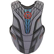 Warrior Burn Lacrosse Goalie Chest Pad GRAY