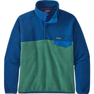 파타고니아 컬러블럭 1/4 스냅티 플리스 자켓 Patagonia Lightweight Synch Snap-T Pullover Fleece Top Mens