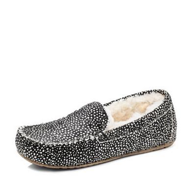 EMU Cairns Fur Moccasin Slippers Womens