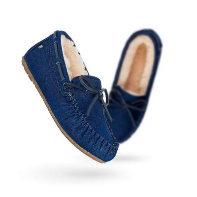 EMU Amity Denim Slippers Womens