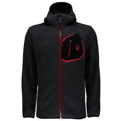 Spyder Paramount Full Zip Mid Weight Hood Stryke Jacket Men's