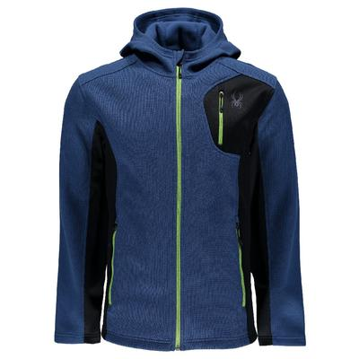 Spyder Bandit Full Zip Hoody Lite Weight Stryke Jacket Men's
