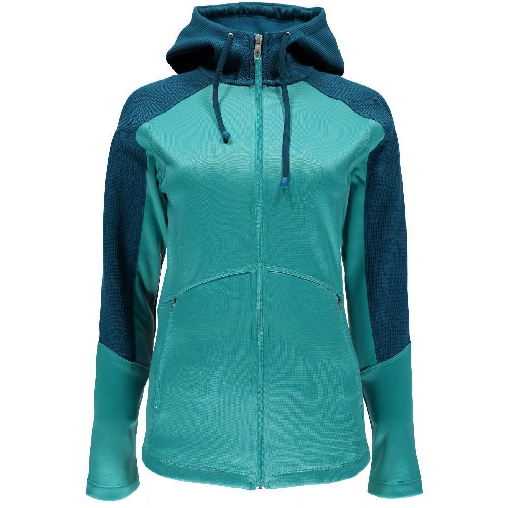Spyder Bandita Full Zip Hoody Lite Weight Stryke Jacket Women's