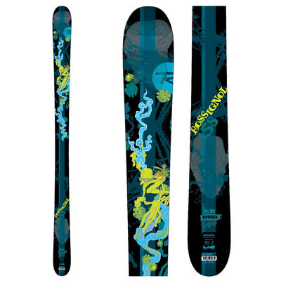 Rossignol Youth SAS S1 Pro Jr Twin Tip Skis