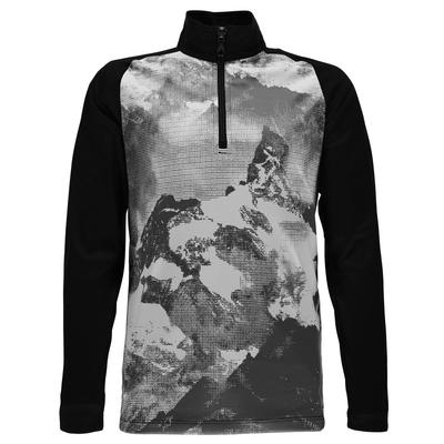 SPYDER B LIMITLESS 1/4 ZIP T-NECK